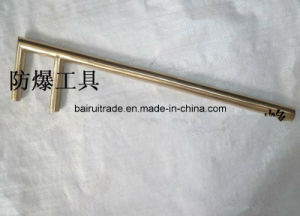 Flexible Safety Hand Tool Non Sparking F Shape Wrench, Valve Wrench pictures & photos