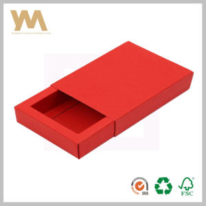 Customized Printing Kraft Paper Drawer Box for Gift pictures & photos