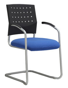 Plastic Visitor Chair Modern Metal Frame Meeting Room Chair (LDG- 820C) pictures & photos
