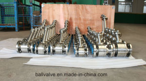 A350 Lf2 A182 F304 F316 Forged Steel Ball Valve pictures & photos
