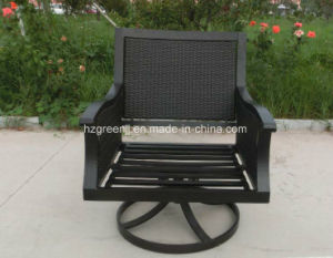 Swivel Chair Sofa Set with Storage Table Garden Rattan furniture pictures & photos