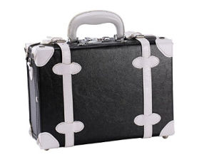 Black Cosmetic Travel Carrying Case Beauty Brief Case pictures & photos