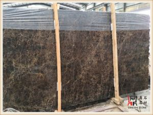 Natural Spanish Dark Emperador Marble Slab for Flooring Tile/Wall Cladding and Brown Building Material pictures & photos