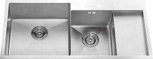 S2104 Stainless Steel Double Bowl Handmade Sink pictures & photos