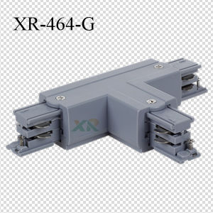 Three Circuits Track T Connector with Lighting Track System (XR-464) pictures & photos