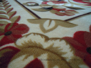 High Quality Falanel Printing Floor Carpet pictures & photos