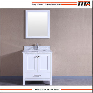 2017 Hot Selling Solid Wood Bathroom Cabinet T9199-48W pictures & photos