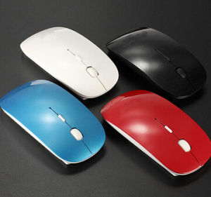 Ultrathin Colorful Wireless Bluetooth Mouse pictures & photos