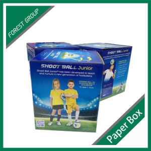 White Cardboard Made Football Display Box pictures & photos