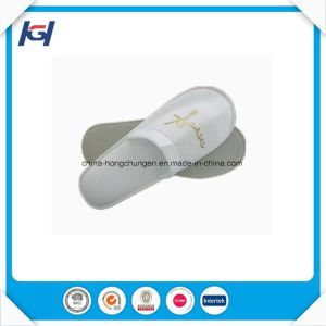 White Waffle Disposable Washable Hotel /SPA Slippers pictures & photos