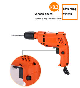 10mm/500W Kynko Power Tools Cord Drill Electric Drill for OEM (KD60) pictures & photos