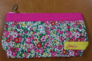 Customized Floral Cotton Clutch Bags for Ladies pictures & photos