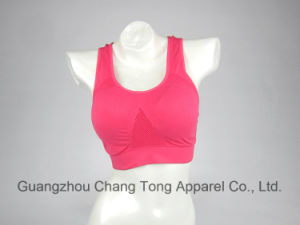 Wholesale Women′s Custom Yoga Sports Bra pictures & photos