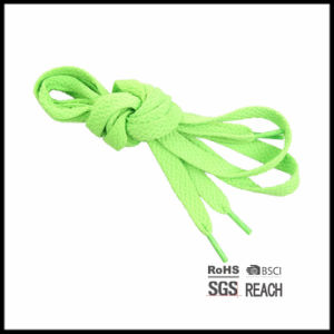 Tubular Elastic Sneakers Shoelaces Ties Solid Color Cotton Shoelaces Cotton Shoe Laces pictures & photos