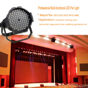 84PCS*3W High Power Professional LED PAR Light
