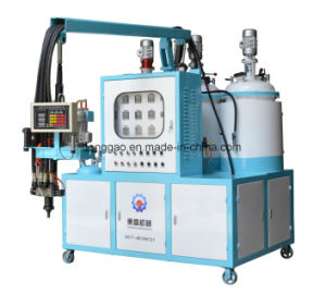 Polyurethane Shoe Pad Foaming Machine pictures & photos