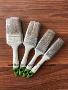 Bristle Mixed Filaments Paint Brush with Plastic Handle pictures & photos