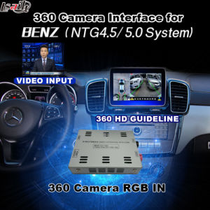 Rear View & 360 Panorama Interface for Mercedes-Benz with Ntg-4.5 System Lvds RGB Signal Input Cast Screen pictures & photos