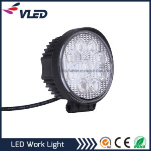 27W Round LED Car Light Offroad LED Truck Tractor Light pictures & photos