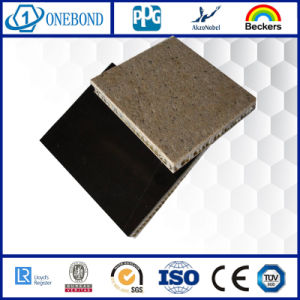 Aluminum Honeycomb Stone Composite Panel for Decoration pictures & photos