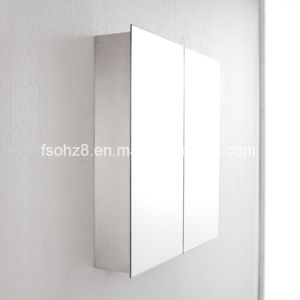 2017 Bathroom Accessories Stainless Steel furniture Cabinet with Mirror (7011) pictures & photos