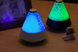 2017 Funnel Shaped LED Colorful Portable Stereo Bluetooth Speaker pictures & photos