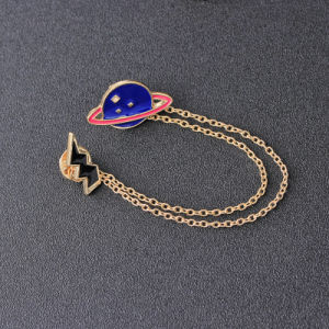 Zinc Alloy Enamel Celestial Body&Flashing Lightning Brooches Pins for Womens Jewelry Needle Brooch Lapel Pin Collar pictures & photos