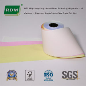 3 Ply Carbonless Paper Roll for Impact POS Printer pictures & photos