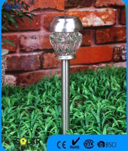 Crystal Glass Solar Stake Light Garden Light pictures & photos
