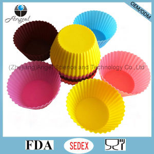 Medium Size Cake Tool Silicone Muffin Mould Sc01 (M)