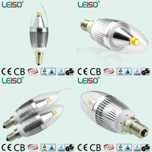 Patent 5W 90ra CREE Chip Scob E14 Candle Bulb Light (LS-B305-SB-CWWD/CWD) pictures & photos