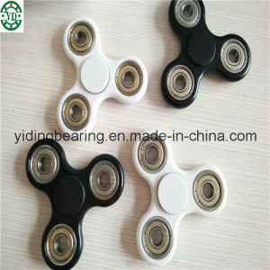 ABS Plastic Hand Spinner Ball Bearing Toy Brass Fidget Spinner Toy with Hybrid Ceramic Bearing 608 pictures & photos