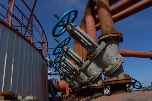 Pneumatic Y Type Slurry Valve pictures & photos