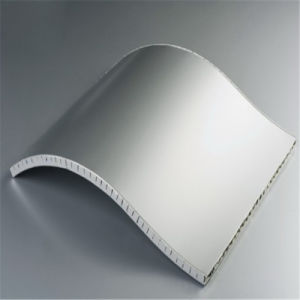 Aluminium Honeycomb Sheet Curved Panel (HR65) pictures & photos