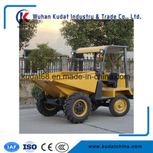 1.5tons Site Dumper with Hydraulic Tipping Hopper (SD15-11DH) pictures & photos