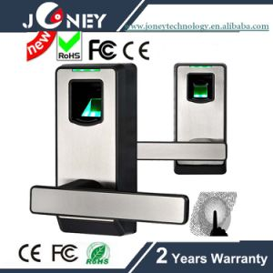 Hot Selling  Rugged ABS Plastic Casing Small Fingerprint Door Lock pictures & photos