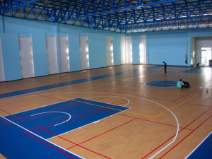 Indoor Basketball Court Steel Space Frame pictures & photos