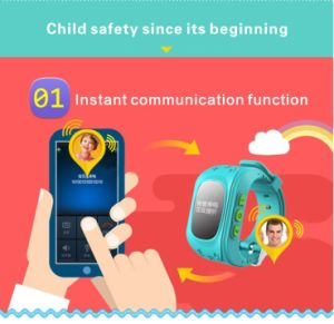 Children′s Smart Phone Positioning Watch pictures & photos