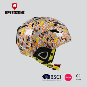 Ultralight Integrally Ski Helmet with Fashionable Design pictures & photos