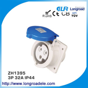 Flush Type Oblique Power Socket (Protection Rate: IP44) pictures & photos