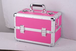 Aluminum Storage Case Compact Cosmetic Case Jewelry Box for Necklace pictures & photos