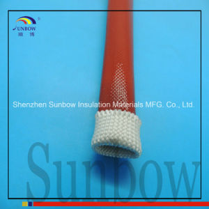 Expandable Silicone Rubber Fiberglass Sleeving pictures & photos