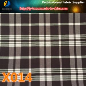 Yarn Dyed Fabric in Stock! No MOQ! Polyester Check Fabric for Jacket (X011-14) pictures & photos