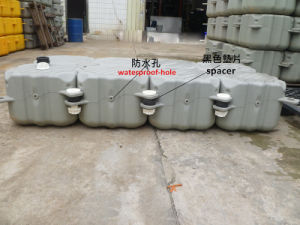 Plastic HDPE Pontoon Floating Dock pictures & photos