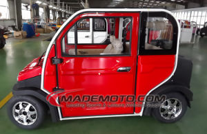 China Made 4 Wheels 4 Seaters Electric Car with 100km Range pictures & photos