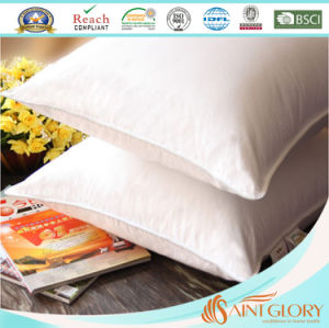 Hotel Cheap Firm Polyester Microfiber Down Alternative Pillow Cushion pictures & photos