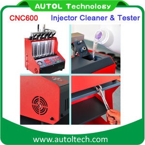 High Quality Automotive CNC-600 Injector&Cleaner Tester Machine Fuel Injector Cleaner 110V and 220V pictures & photos