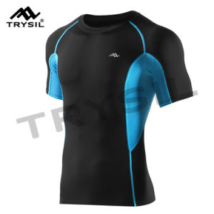 Male Sport Shirts T Shirt Sportswear Gym Clothing