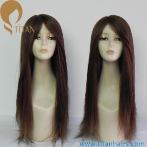 Best Quality Virgin Human Hair Replacement Wigs for Women pictures & photos