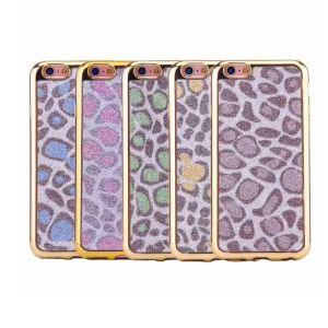 Custom Design Leopard Grain TPU Phone Case for iPhone6 pictures & photos